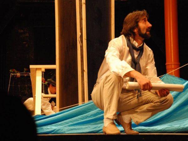 Actorul Liviu Topuzu – la Arad, spectacol de lectură publică, la bibliotecă