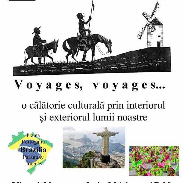 Voyages, voyages… Brazilia